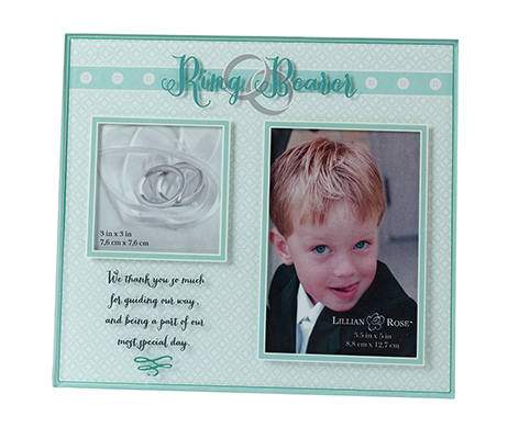Ring Bearer Keepsake Gift Picture Frame Decor