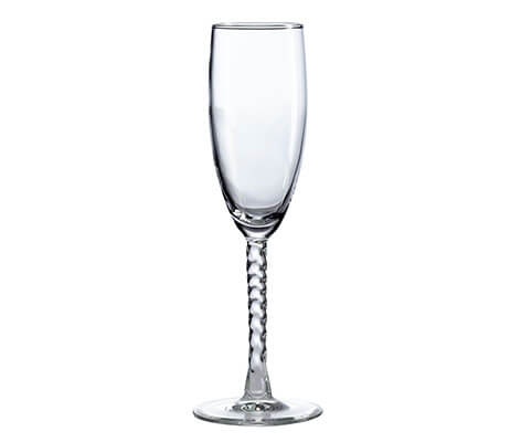 Single Wedding Toasting Glass