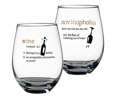 Stemless Wine Definitions Glasses