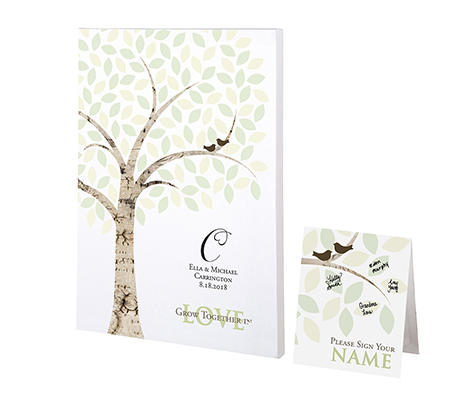 Personalized Guest Book Alternative Signing Tree