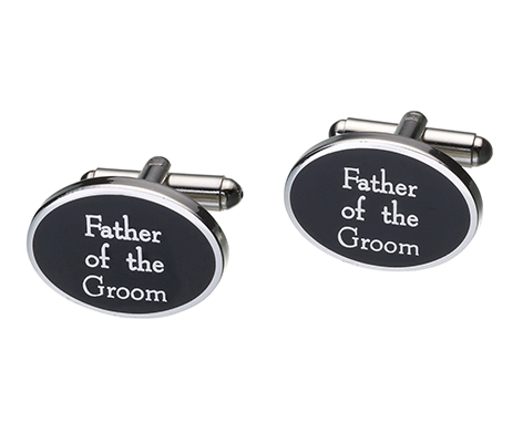 Father of Groom Cufflinks Wedding Accessories Gift