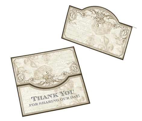 Vintage Gold Wedding Table Decor Name Cards
