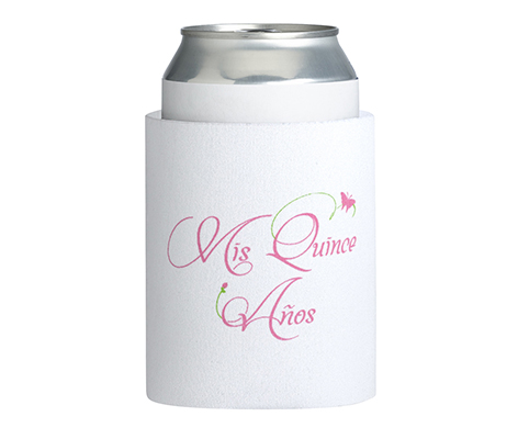 Quince Anos 15 Party Favor Cup Can Cozy