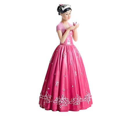 Quince Anos 15 Party Figurine Cake Topper