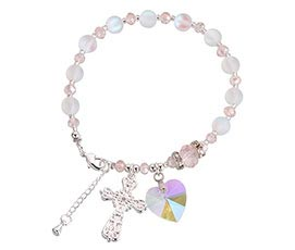 Quince Anos 15 Accessories Rosary Gift Bracelet