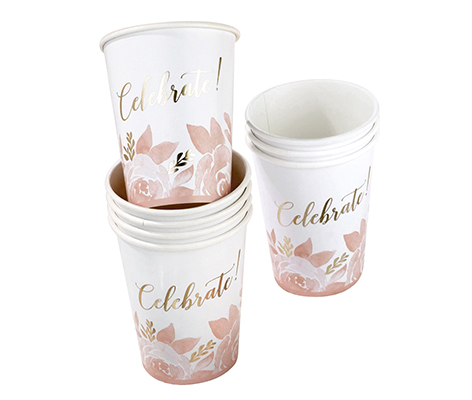 Set of 8 Bridal Shower Cups