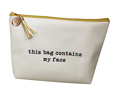 This Bag Contains My Face Cosmetic Bag