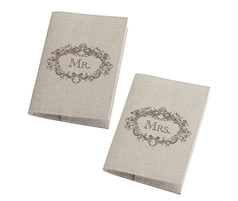 Mr. and Mrs. Tan Couple Passport Covers Travel