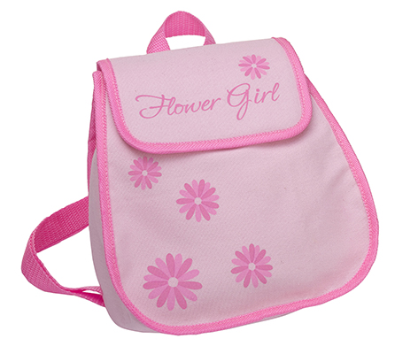Flower Girl Backpack Bag Keepsake Gift