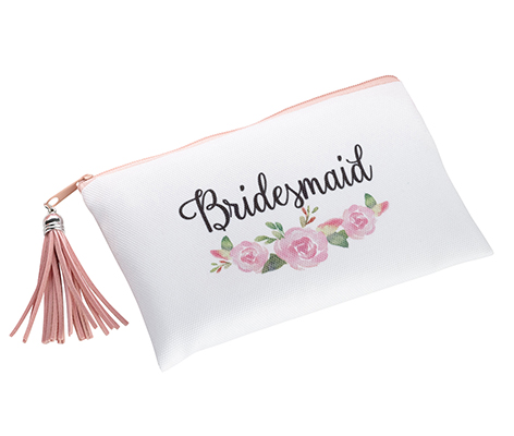 Watercolor Floral Bridesmaid Survival Bag