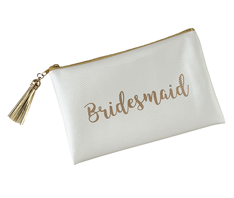 Gold Bridesmaid Survival Bag