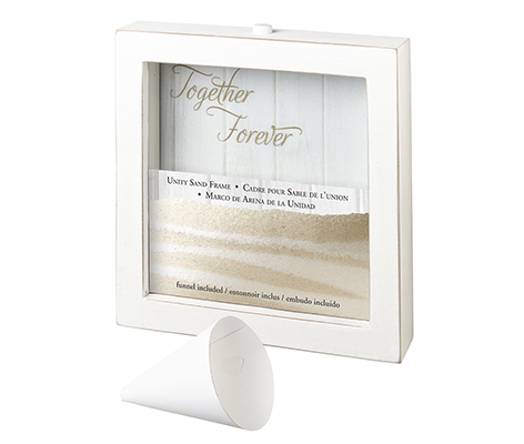 Small Unity Sand Ceremony Frame