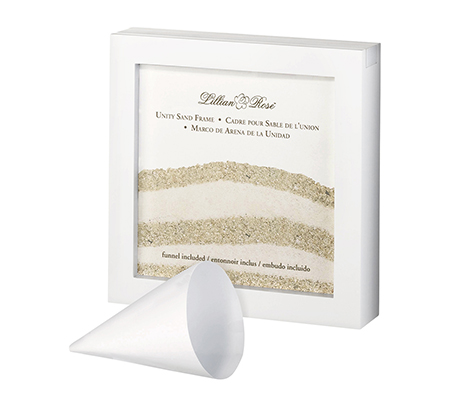 White Unity Sand Ceremony Shadow Box Frame