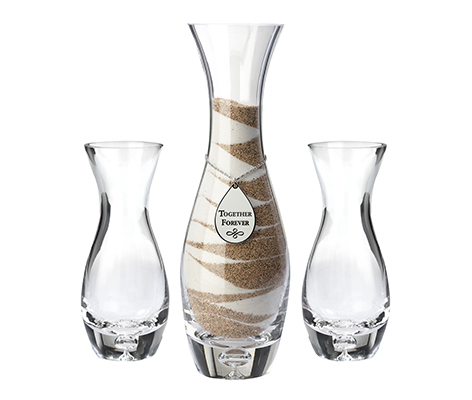 Wedding Ceremony Unity Sand Vases Together Forever