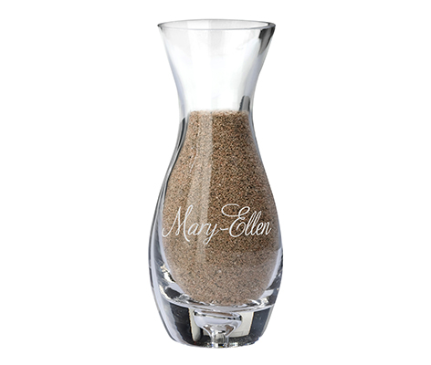 Personalized Wedding Ceremony Unity Sand Side Vase