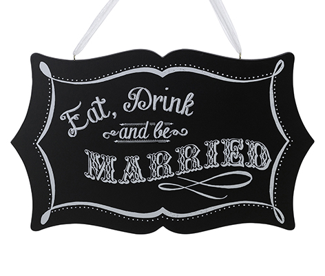 Vintage Be Married Wedding Sign Home Decor