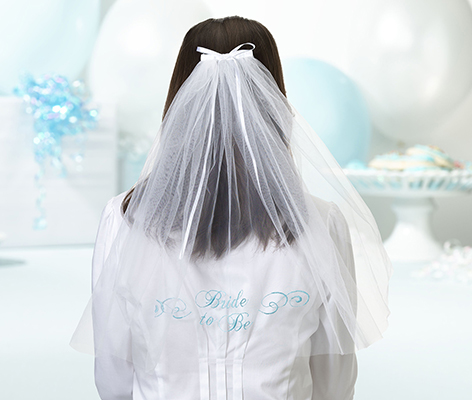 Bride To Be Bachelorette Party Veil