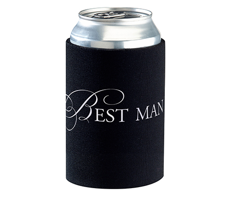 Best Man Can Cup Cozy Wedding Party Keepsake Gift
