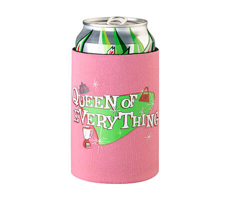 Queen of Everything Cup Can Cozy Wife Wedding Gift