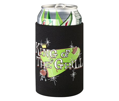 King of the Grill Can Cup Cozy Husband Gift