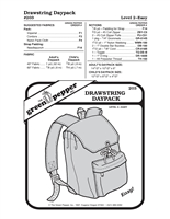 Drawstring Daypack (203GP) Sewing Pattern