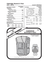 Hunter's Vest (501GP) Sewing Pattern