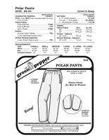 Polar Pants (505GP) Sewing Pattern