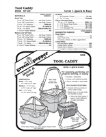 Tool Caddy (556GP) Sewing Pattern