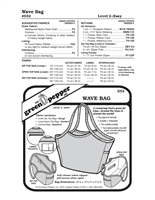 Wave Bag (552GP) Sewing Pattern