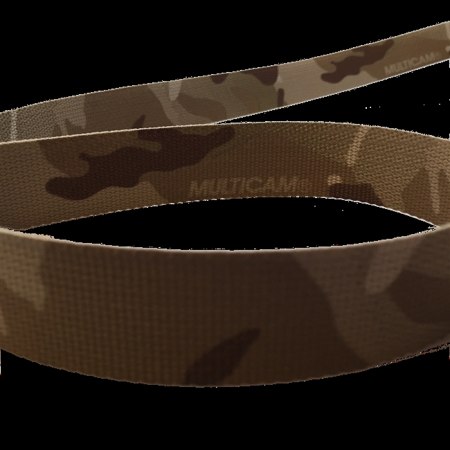 3 inch (76mm) Solution Dyed Nylon Webbing - MultiCam 2 sides printed