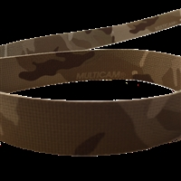 3/4 inch (102mm) Solution Dyed Nylon Webbing, Printed 2-sides MultiCam Camo