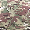 58-60 inch wide NYCO Twill MultiCam
