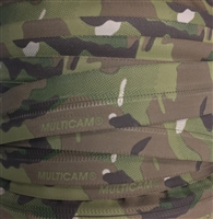 No. 9 Coil Zipper Chain - MultiCam