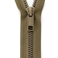 8 Molded Tooth YKK Zipper-by-the-Meter