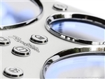IL Motorsport Classic Gauge Panel Silver 1990 - 1997 NA
