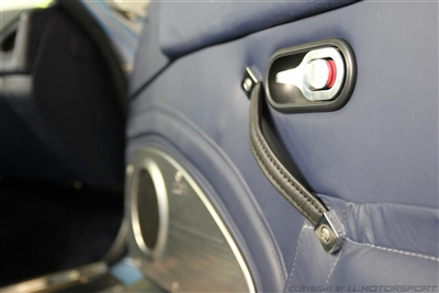 Miata leather door pulls
