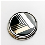 Miata vintage nose badge black