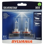 Mazda Miata SYLVANIA Silverstar H11 Hi Performance Bulbs Fog Light