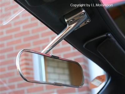 KG Works Vintage Chrome Rear View Mirror 1990-1995
