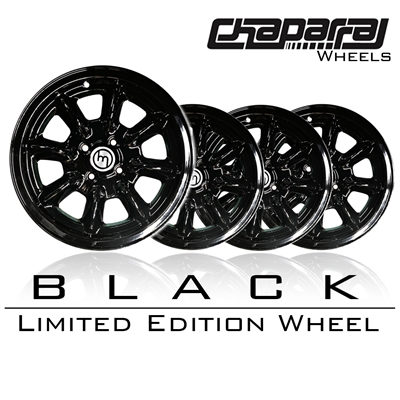 Miata Wheel Chaparral Black