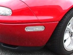 Clear Side Markers set of two for 1990 - 2005 Mazda Miata