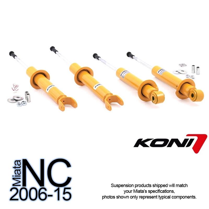 2006 Mazda Mx 5 Miata Suspension: RSpeed: Koni Sport Shocks Mazda MX-5 2006-2015