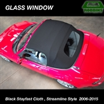 Robbins CLOTH Streamline  Miata Convertible Top, Factory Style With Defroster NC '06 -15