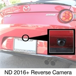 Miata reverse camera review