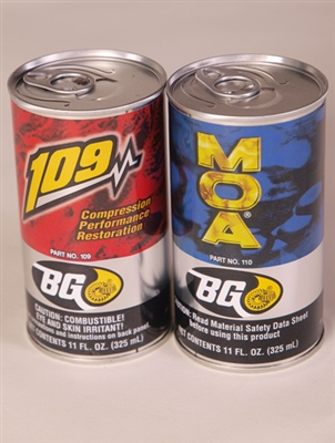 BG 109 Compression Performance Restoration/Includes 1 free MOA oil Conditioner