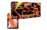 Orange Lighting Nitrile Gloves