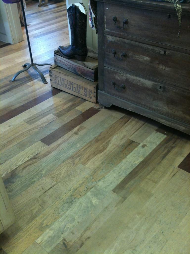 Mixed specie flooring for Millwood hardwood flooring