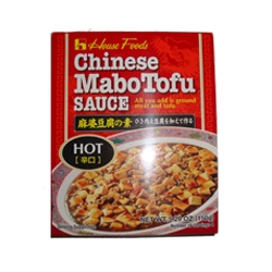House Foods Chinese Mabo Tofu Sauce Hot