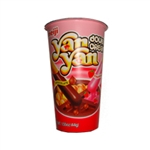Meiji Yan Yan Chocolate Strawberry Snack