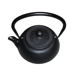 Black Metal Teapot (heavy)